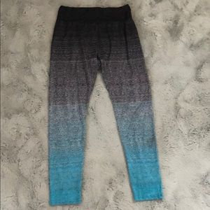 SHEIN - Wide waistband ombre leggings
